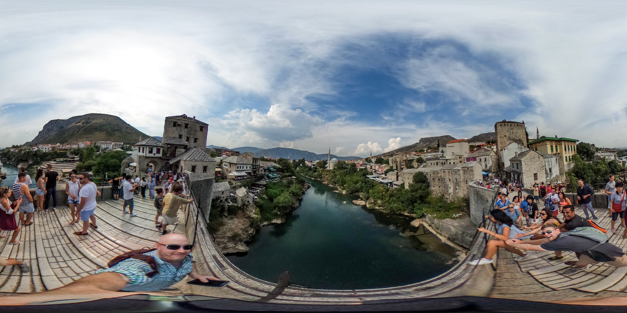 Stari Most Bridge in Mostar, Bosnia
