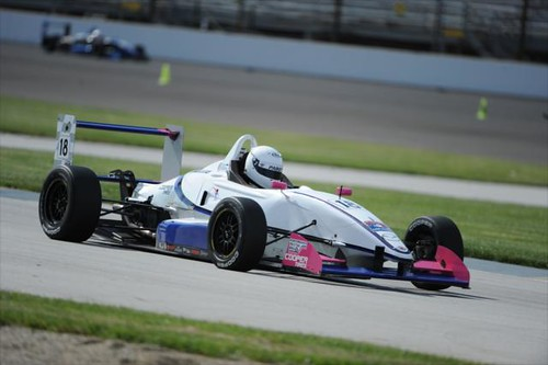 Tristan Viidas at IMS | by indianapolismotorspeedway.com