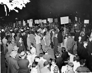 Thousands rally for Capital Transit Jobs: 1943 | by Washington Area Spark