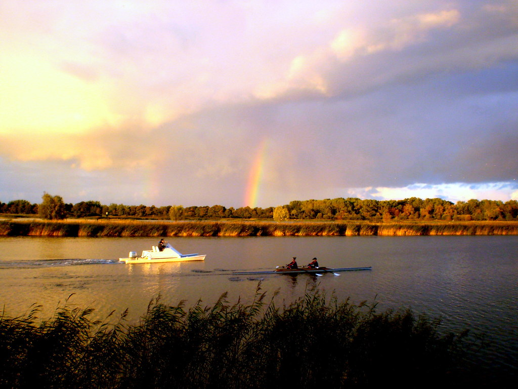 Happy Sunday With Rainbow, My Flickr
