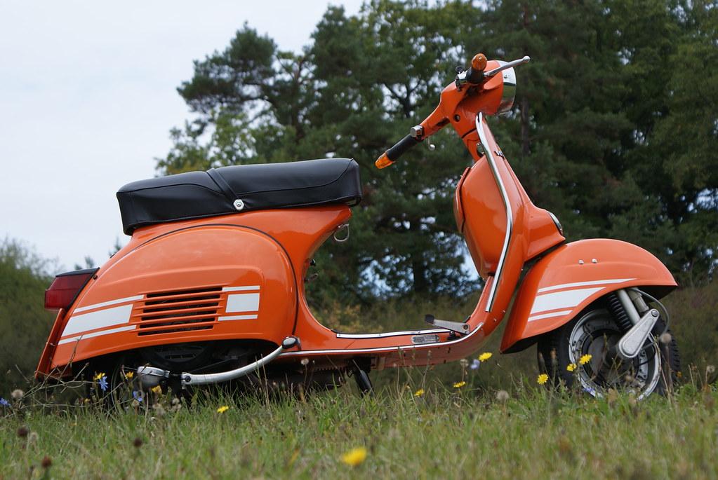 vespa rally 200 orange efendi17 flickr. Black Bedroom Furniture Sets. Home Design Ideas