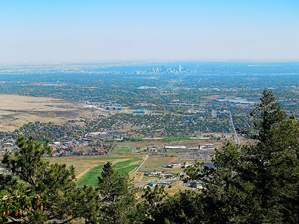 Denver from lookout mountain eric lumsden flickr for Mountain view motors colorado springs co