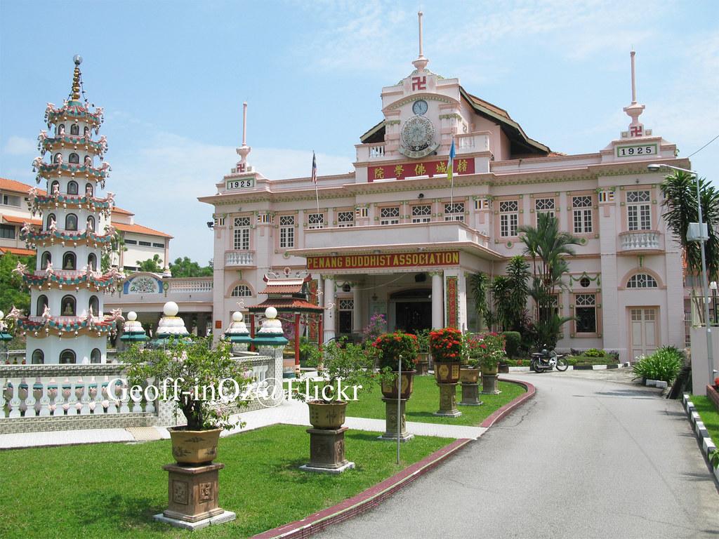 Penang Buddhist Association Anson Road Penang Built