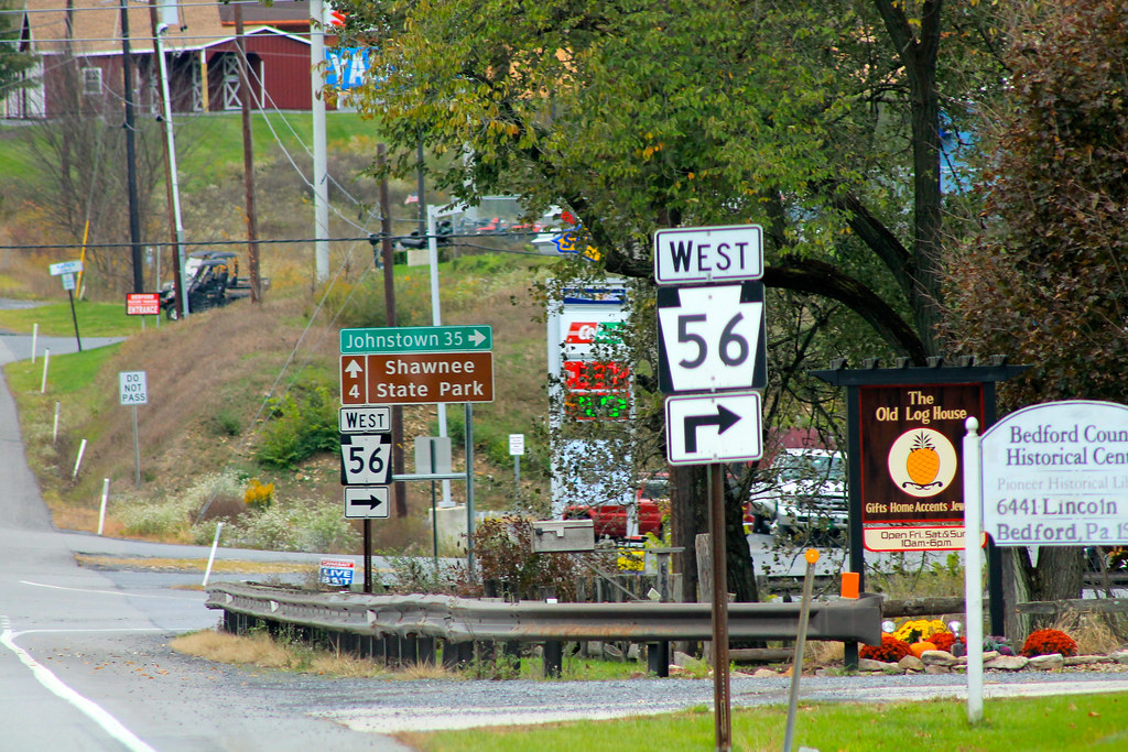 Us 30 Pa Route 56 Bedford Pa Jon Dawson Flickr