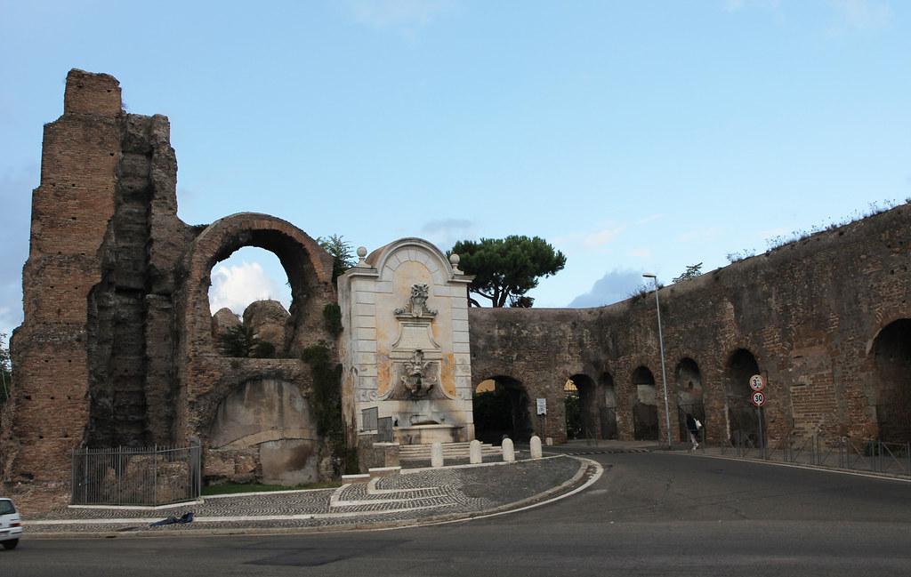 Roma acquedotti a porta furba the six aqueducts of - Palestra porta furba ...