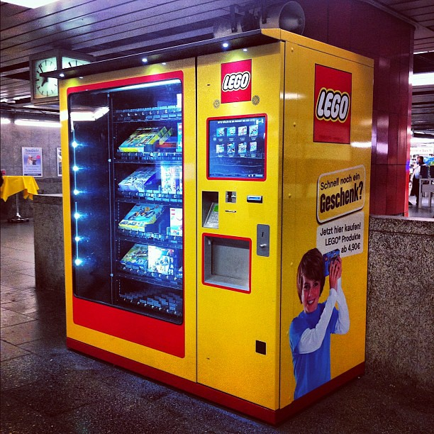 vending machine lego