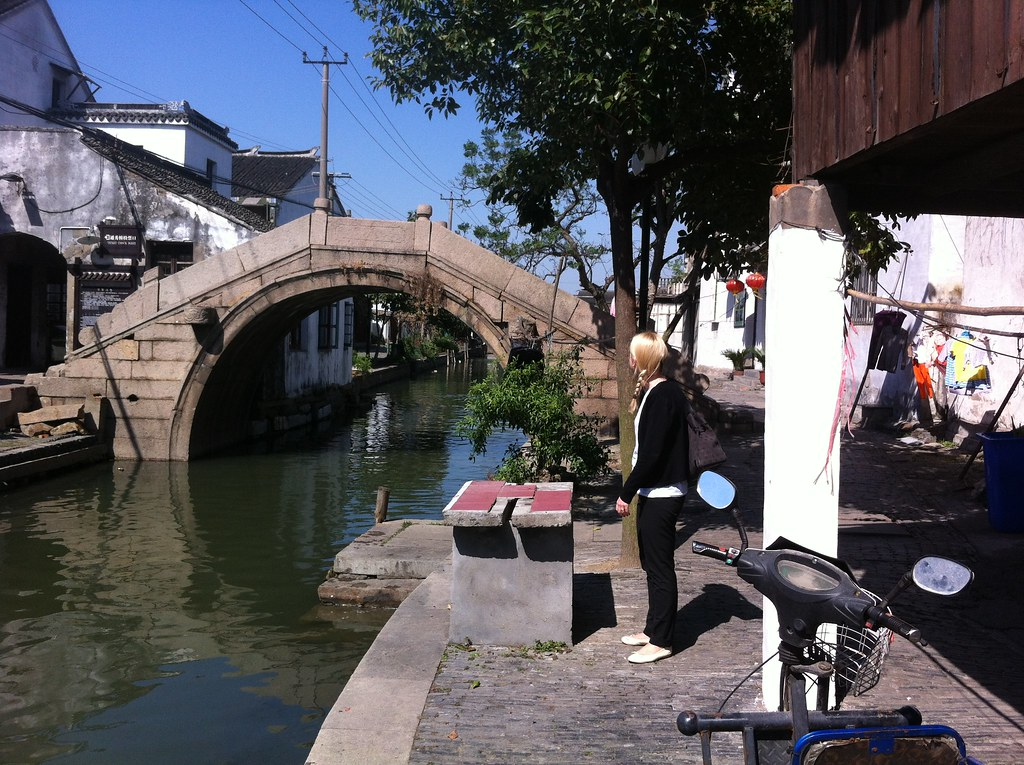 Visit To Zhouzhuang Watertown 100 Km From Shanghai Flickr