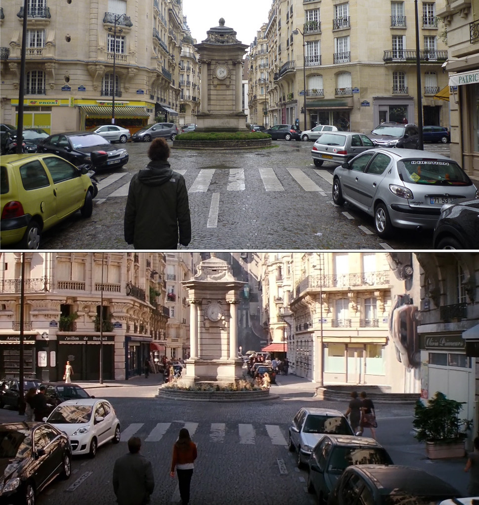 inception dream scene filming location paris gareth evans flickr. Black Bedroom Furniture Sets. Home Design Ideas