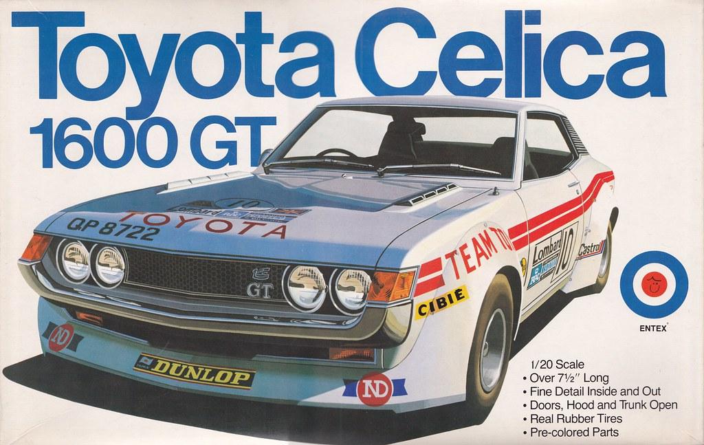 Ta22 Toyota Celica 1600 Gt Group 2 1975 Wrc Entex