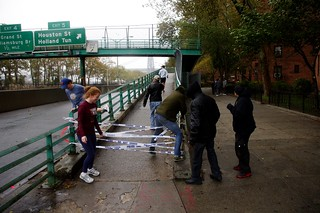 Hurricane Sandy East River Manhattan 5 | by david_shankbone