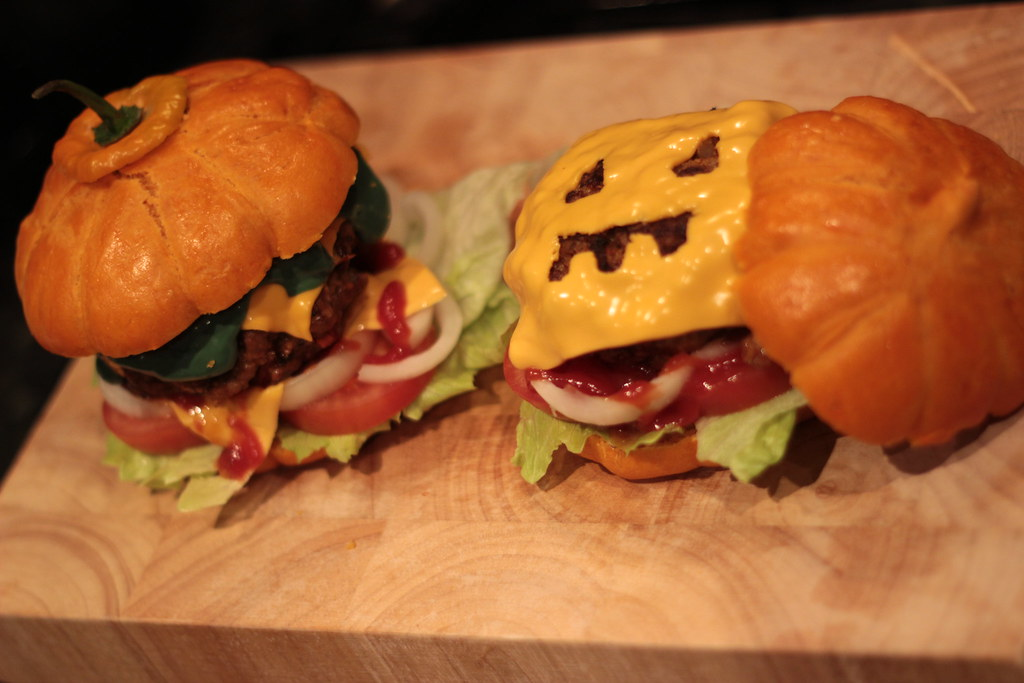 Halloween Burgers | Since it is our first Halloween on our s… | Flickr