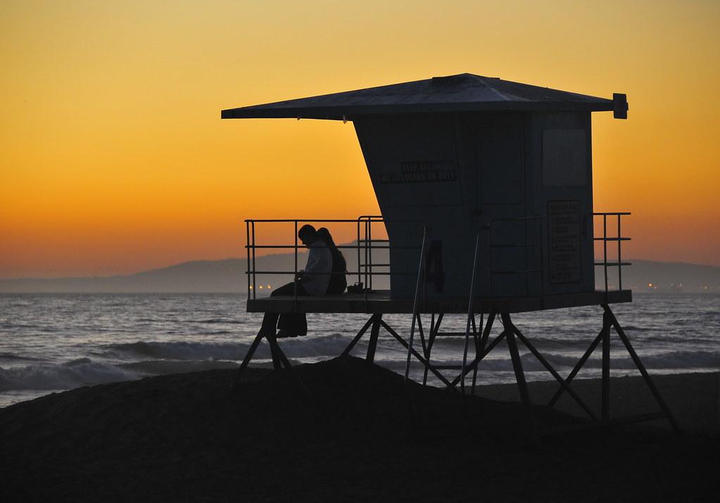 Huntington Beach Lifeguard Tower