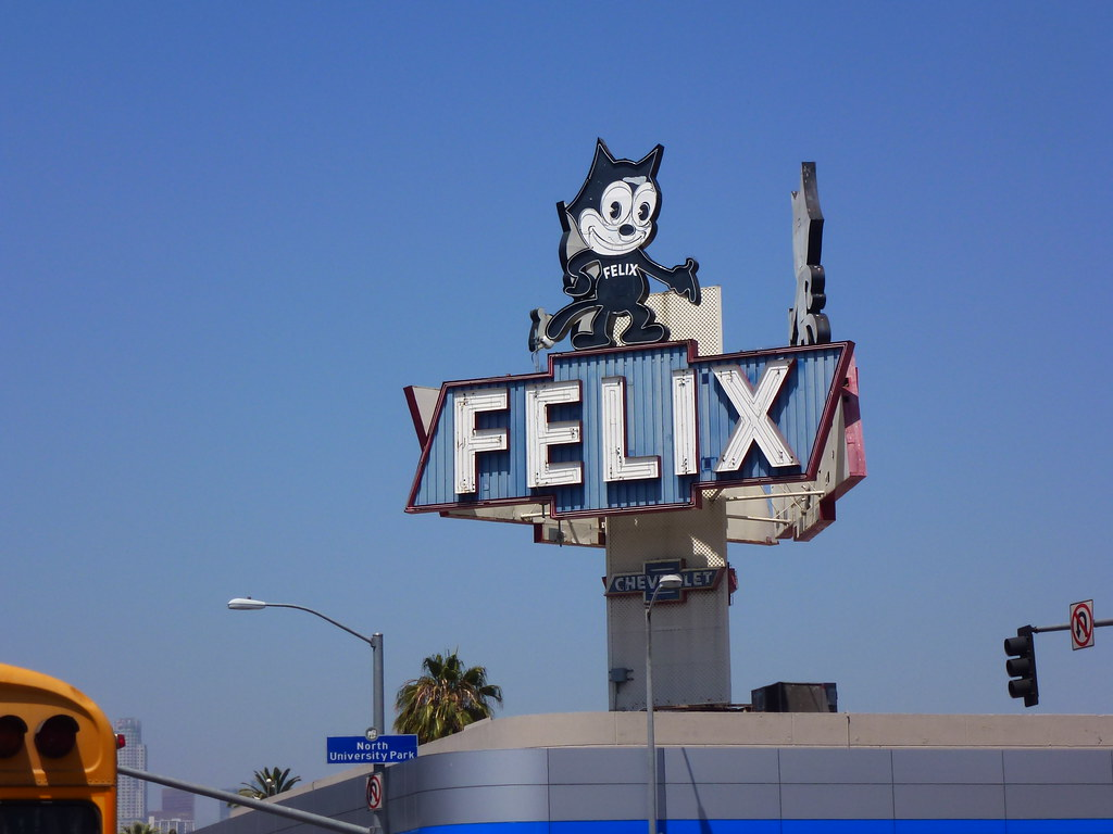 Beautiful ... Los Angeles, CA Felix Chevrolet Neon Sign | By Army.arch