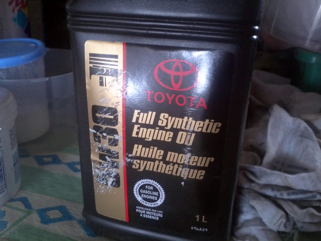 Toyota Full Synthetic Motor Oil For A Number Of Years I