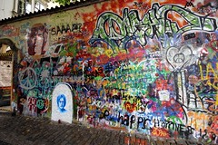 Get clicked with the Lennon Wall - Things to do in Prague