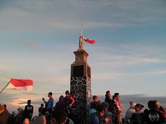 Indonésie Java-centre sommet du Lawu