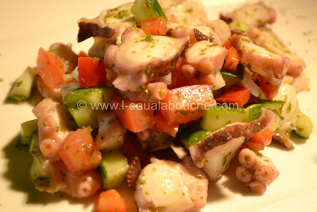 Salade de Poulpe Ensaladilla de Pulpo © Ana Luthi Tous droits réservés 001