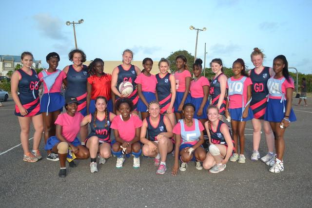 Antigua Netball Tour 2016