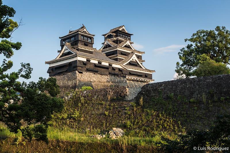 Castillos más populares: Castillo Kumamoto Terremoto-59