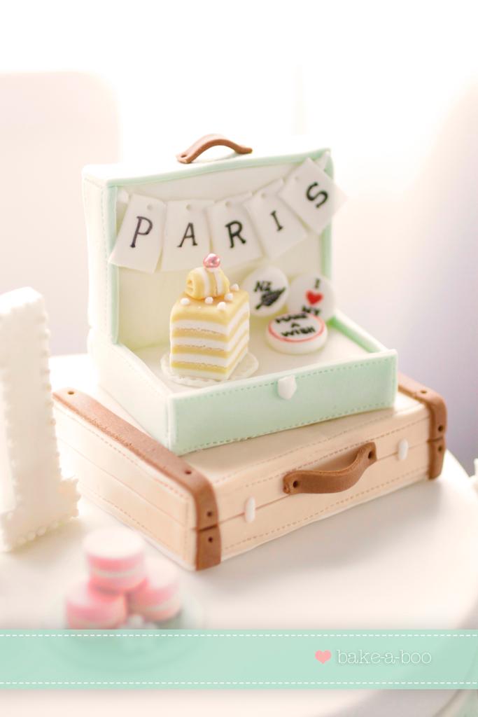Paris Themed Wedding Cakes