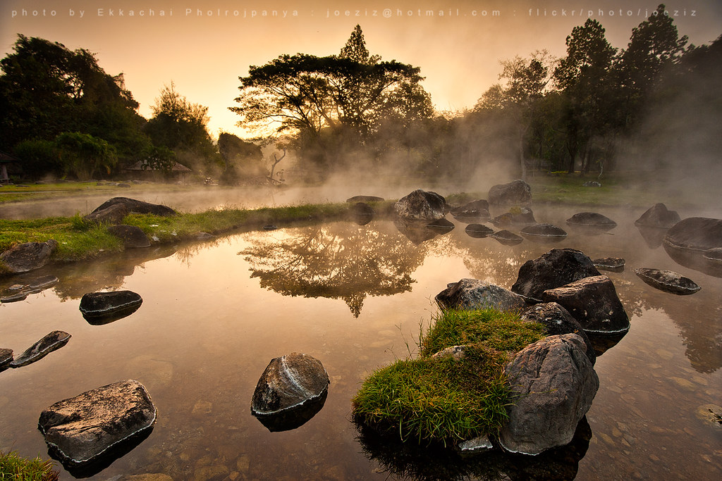 Chae Son National Park | beautieful morning hotspring at Cha… | Flickr