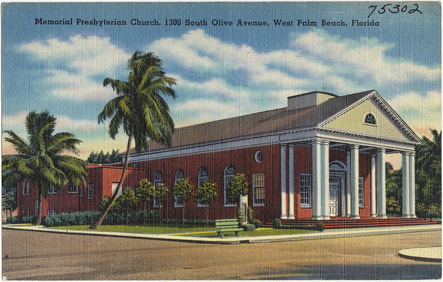 Memorial Presbyterian Church 1300 S Olive Avenue West Palm Beach Florida Flickr Photo