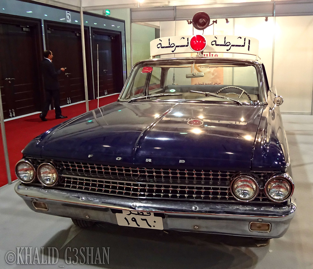 A Police Car In The State Of Qatar In 1960 The Ninth Inter Flickr