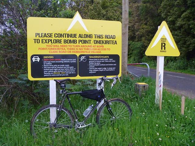 Bomb Point Signage