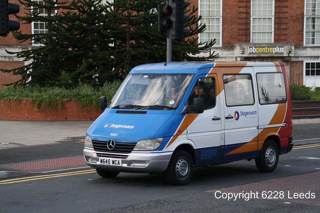 Stagecoach crew staff transport mercedes benz minibus flickr for Mercedes benz greenway staff