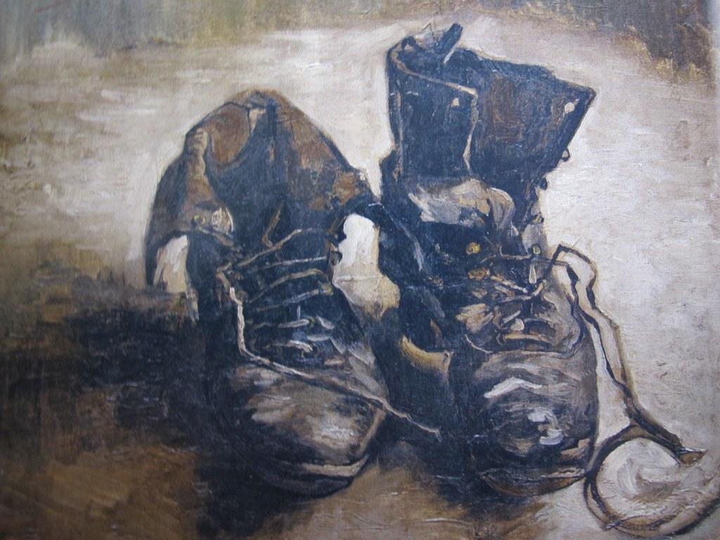Vincent G Chaussures Bohèmes Van Exposition 1885 Gogh x7nq5qafHw