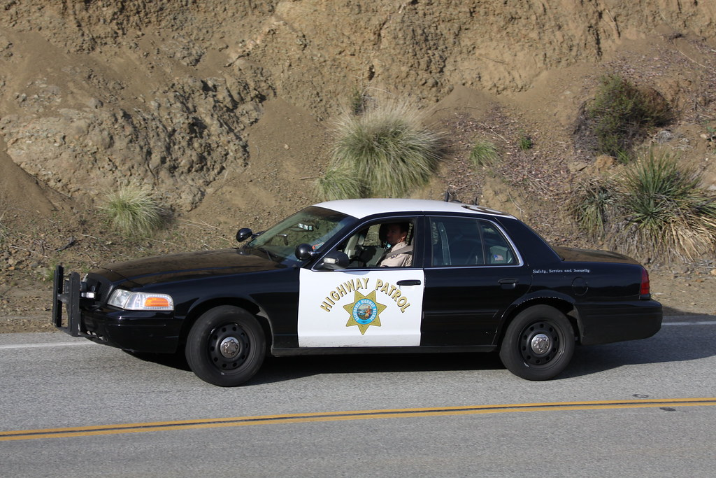 California Highway Patrol Ford Crown Victoria Slicktop