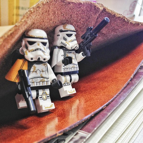 Sandtroopers lurking from Traveler's Notebook :) | by Patrick Ng