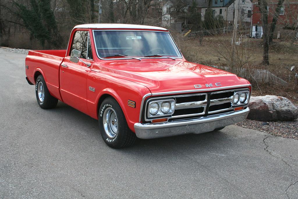 1968 Gmc Truck This 68 Gmc Truck Underwent A Stunning