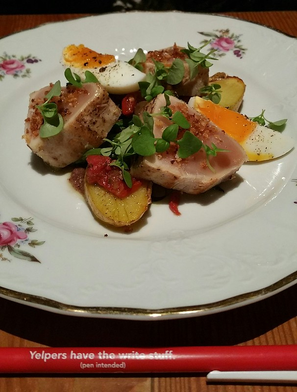 2016-Aug-16 Pourhouse - Albacore Tuna Nicoise