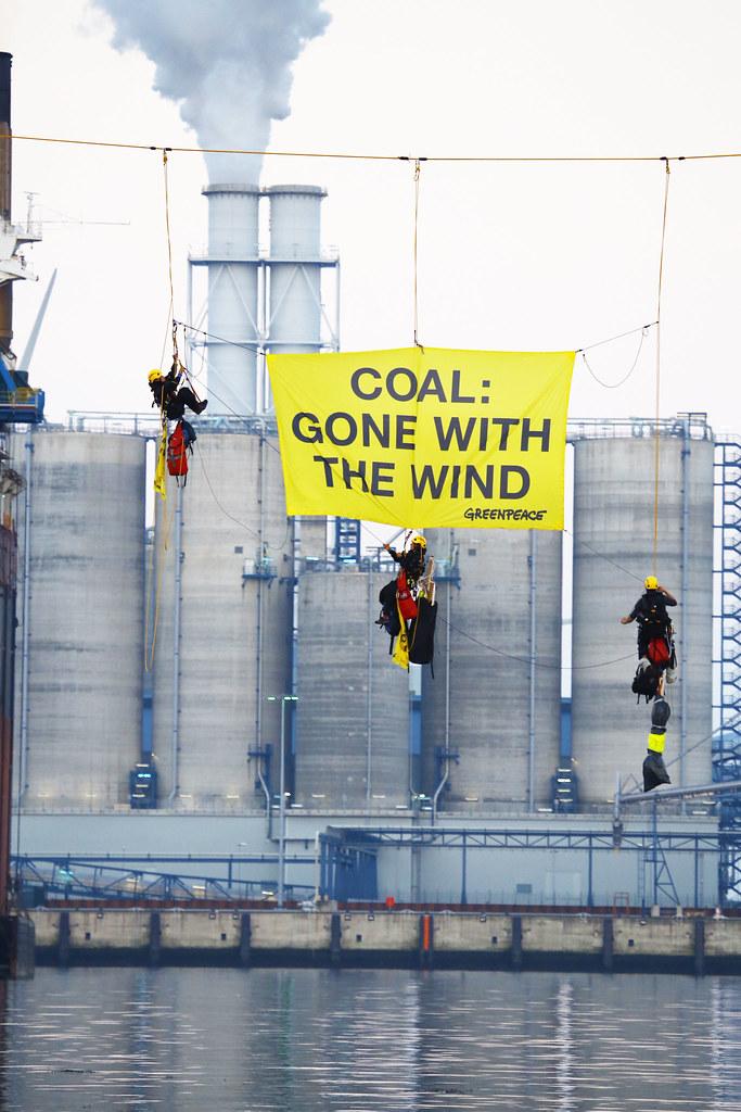 Actie Essent kolencentrale Eemshaven