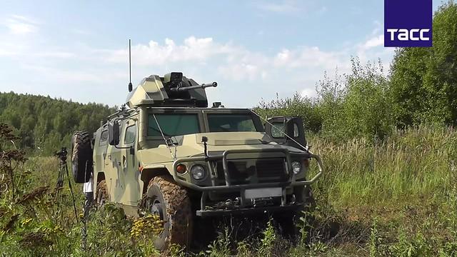 El Tigre no tripulado muestra por primera vez su potencia de fuego (VIDEO)