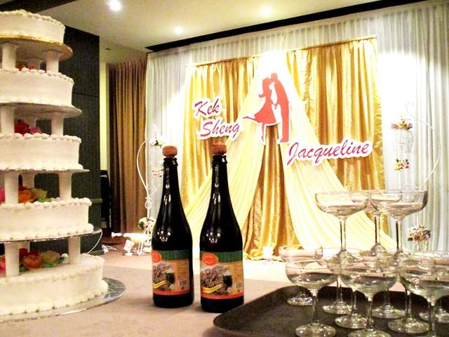 Kek Sheng & Jacqueline's wedding banquet, Sibu