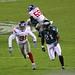 Philadelphia Eagles WR Jason Avant vs NY Giants DB Will Hill