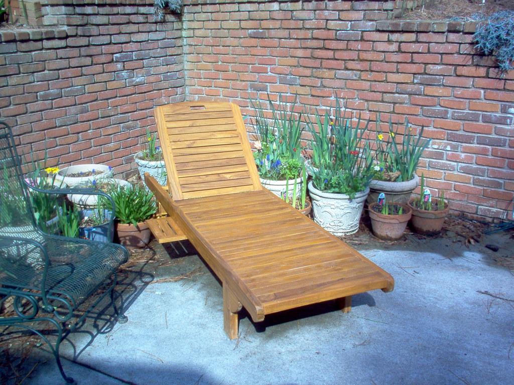 ... Teak Chaise Lounge | By Atlanta Teak Furniture