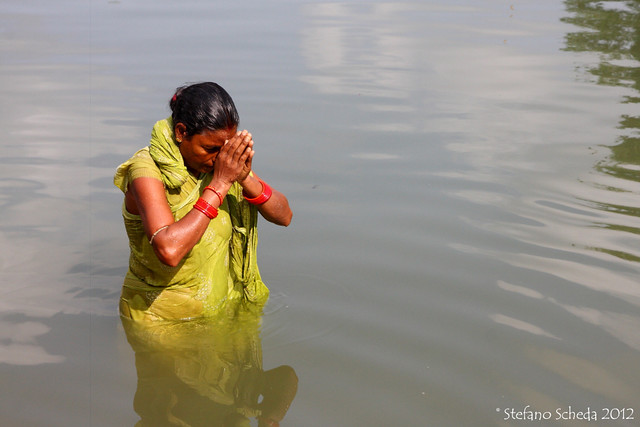 Wishful prayer - Orissa, India