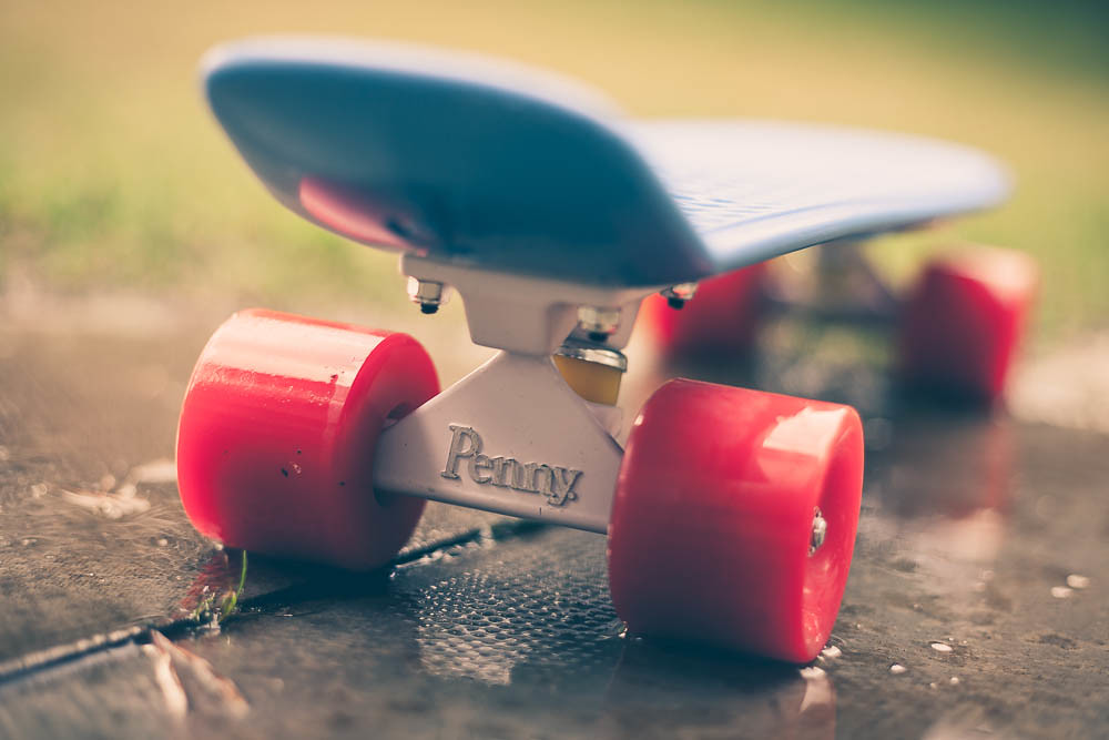 Daughter's Penny Skateboard | One of her birthday pressies ...