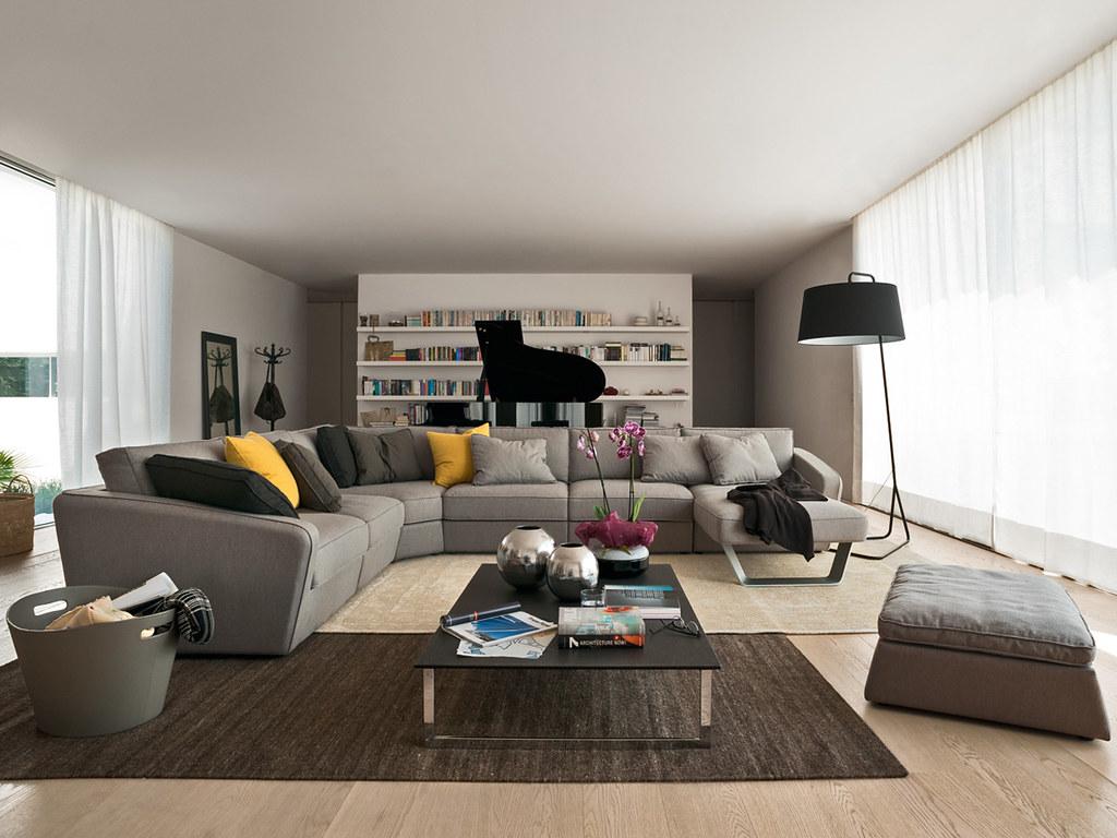 Divano alyon design pininfarina nella foto il divano aly