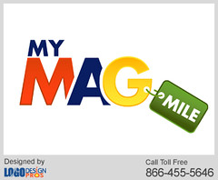 My Mag Mile Logo By Logo Design Pros A Colourful Logo