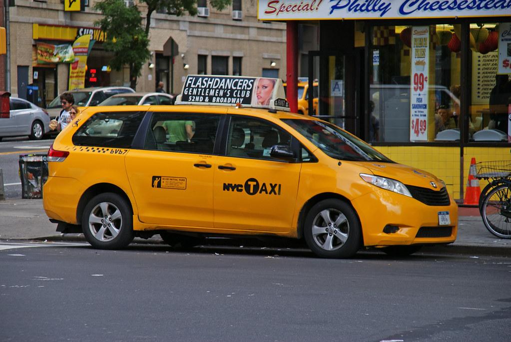 Nyc Taxi Toyota Sienna New York City Taxi Ray Kippig