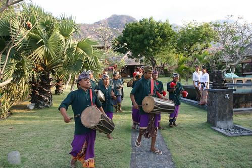Gamalan Band At Villa Semadhi Wedding Ceremony At Villa