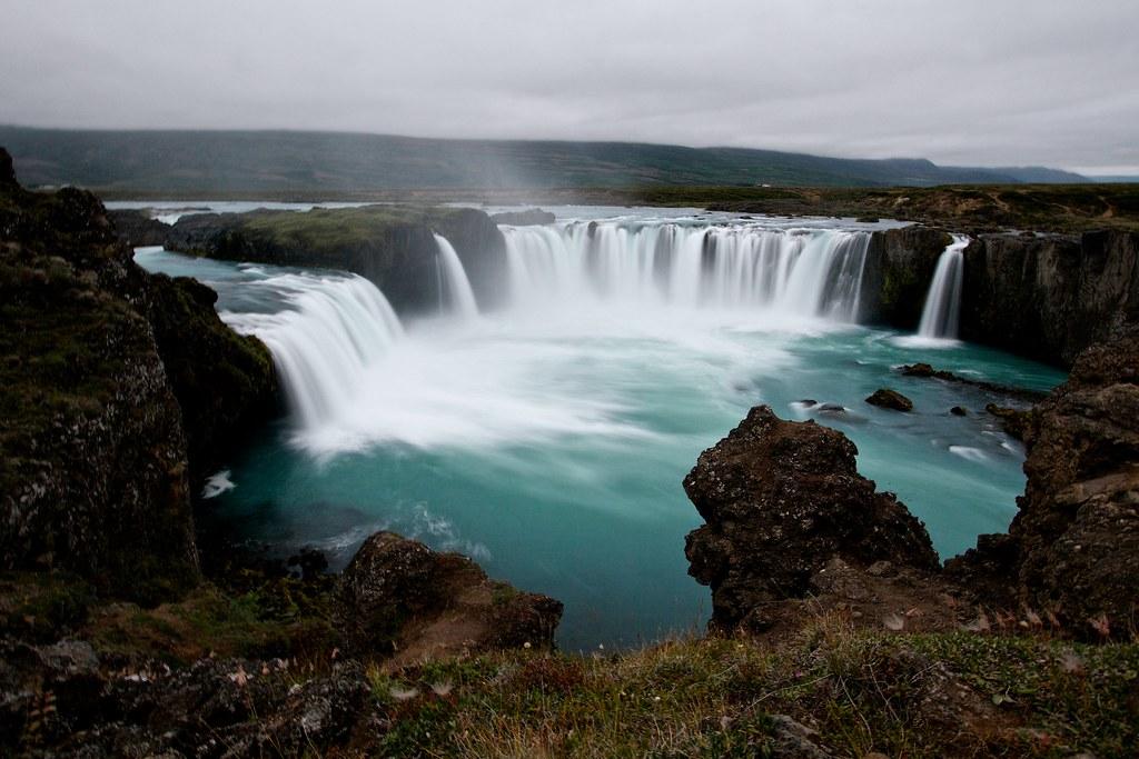 godafoss the go240afoss icelandic waterfall of the gods