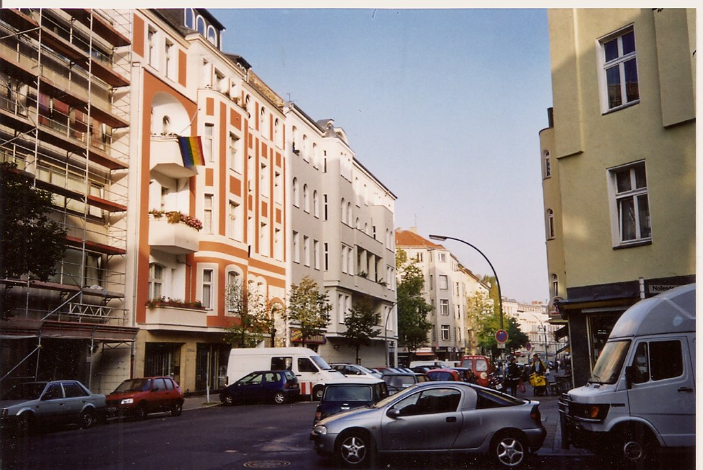 schoneberg berlin 2001 where i stayed near tom 39 s bar flickr. Black Bedroom Furniture Sets. Home Design Ideas