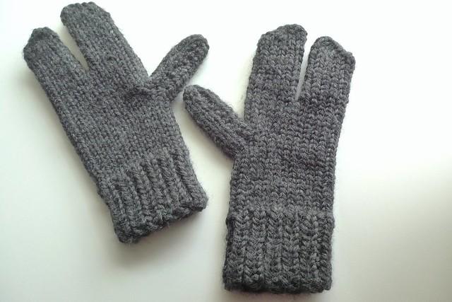 Knitting Mittens On A Loom : Loom knit lobster mittens flickr photo sharing