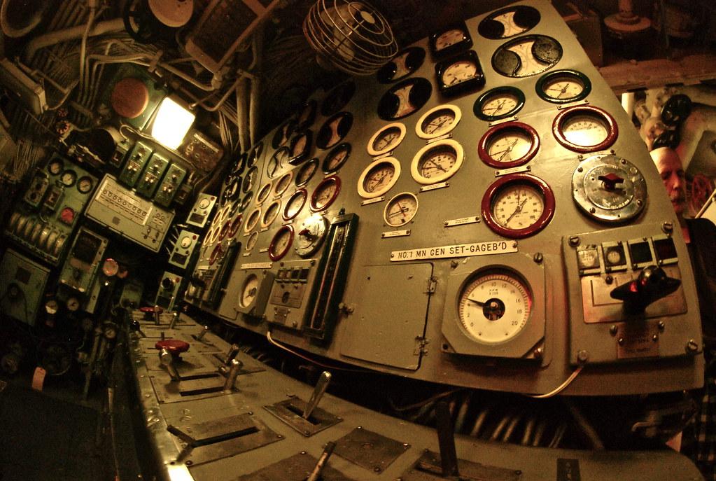 Submarine Interior   By Mitchellmylius Submarine Interior   By  Mitchellmylius