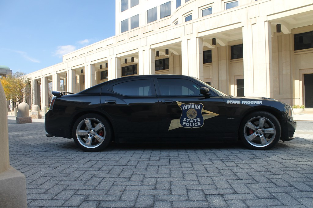 Indiana State Police Department Dodge Charger Srt